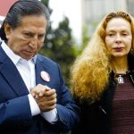 Alejandro Toledo y su esposa, Eliane Karp