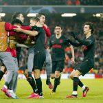 Atlético de Madrid venció 3-2 al Liverpool