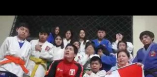 Delegacion peruana de judo