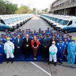 EsSalud entregó ambulancias para traslado de pacientes críticos