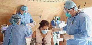 Instalaron hospital móvil en aeropuerto Jorge Chávez