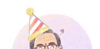 Martín Vizcarra celebra su cumpleaños