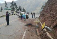 Accidente en carreta deja dos muertos y once heridos