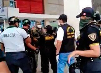 Detención de autoridad en Tumbes es impedida por serenos