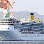 Crucero italiano amarrado en Japón dio 33 positivos