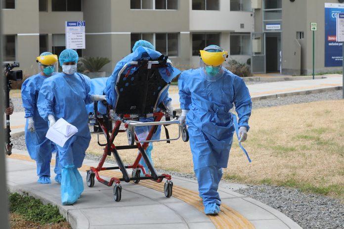 La unidad de trabajo COVID-4 se encarga del traslado de las personas infectadas