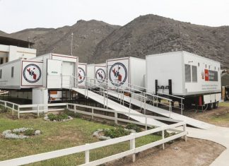 Hospitales provisionales equipados para atender la emergencia por el COVID-19