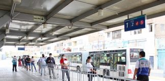Estación de Naranjal, Metropolitano de Lima
