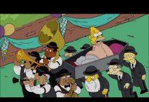 Simpson africanos bailarines