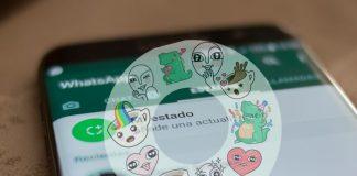 WhatsApp con Stickers