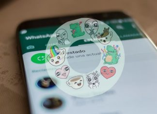 WhatsApp con Stickers