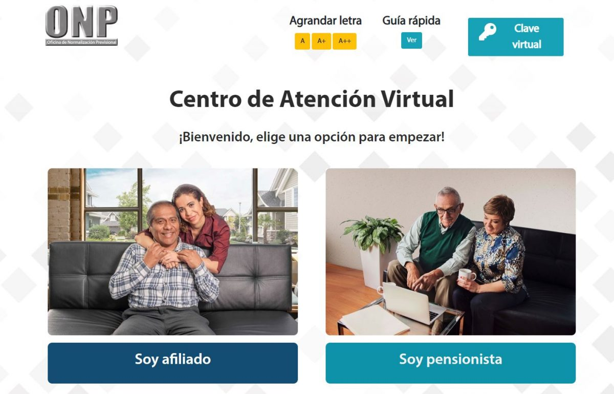 Centro de Atención Virtual - ONP