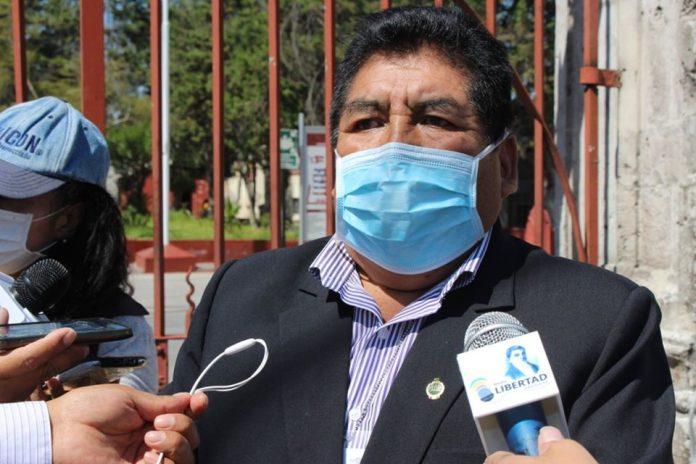 Congresista Hipólito Chaiña Contreras
