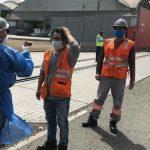 Habilitan puntos de control de salud en el puerto del Callao