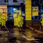 Realizan limpieza en exteriores de Hospital Policial y Militar