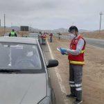 Intervienen vehículos de transporte informal