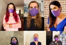 #MascarillaVioleta busca contrarrestar violencia contra mujeres