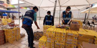 Entregan kits de aseo a 26 municipalidades