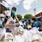 Donaciones de alimentos llegaron a más de un millón de vecinos de 39 distritos