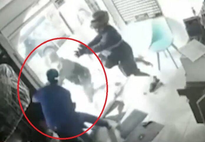 Veterinario frustró asalto de su establecimiento