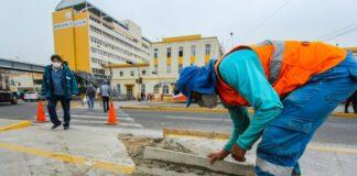 Construyen crucero peatonal para facilitar ingreso a Instituto del Niño