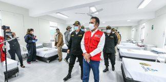 Inauguran centro de aislamiento para policías con Covid-19 en Puente Piedra
