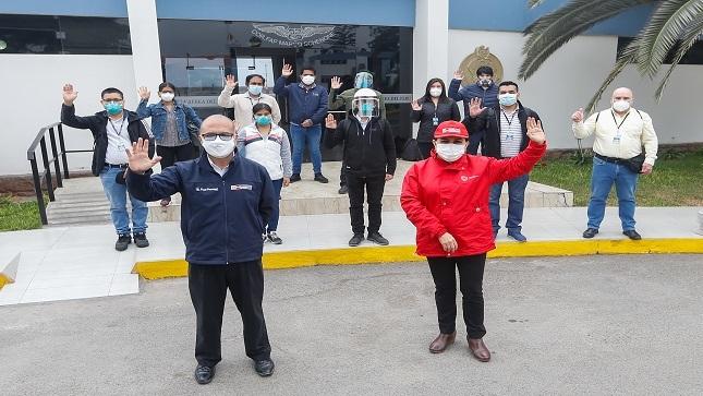 Nuevo grupo de médicos llegan a Ucayali