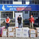 Ayacucho recibe insumos y equipos médicos para el Covid-19