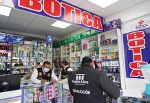 Clausuran farmacias que no cumplían con medidas sanitarias