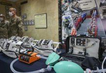 Embajada alemana dona ventiladores mecánicos a la Marina