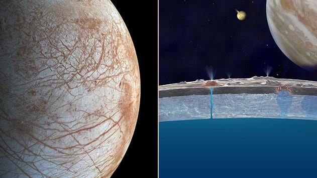 Satélite Europa de Júpiter