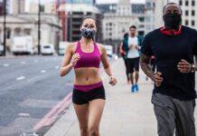 Correr en espacios públicos