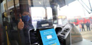 Pago sin contacto en el transporte público