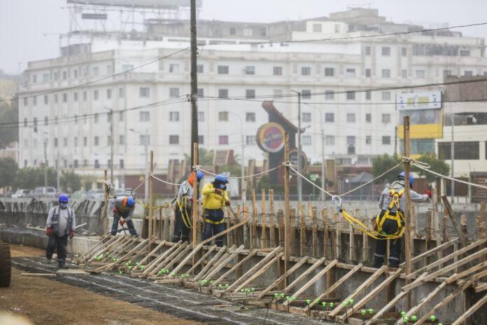 Reinician obras de mejoramiento de la Av. Paseo de la República