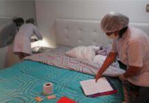 Ejecutan operativo preventivo en hostales de Los Olivos