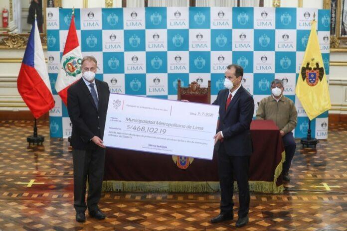 Municipalidad de Lima recibe donación de más de S/468 mil de República Checa