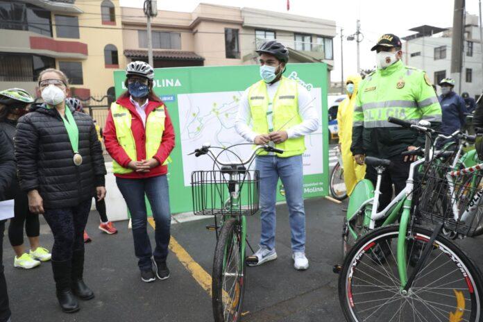 Atu destaca uso de bicicleta en La Molina