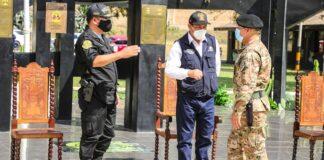 Reservistas del Ejército Peruano