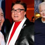 Kirk Douglas, Roy Horn, Olivia de Havilland