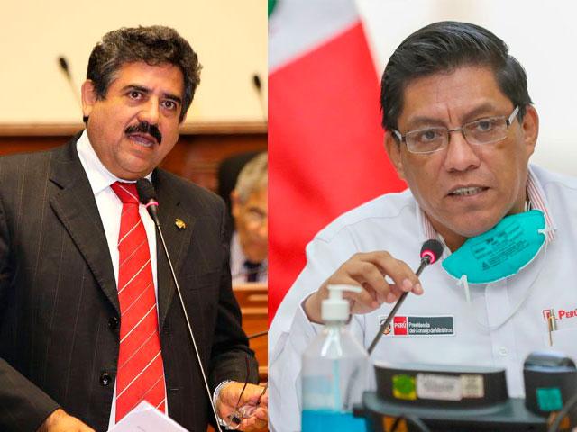 Manuel Merino de Lama y Vicente Zeballos