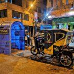 Continúan cabinas solidarias de desinfección anticovid gratuito