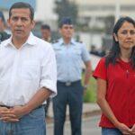 Ollanta Humala y su esposa Nadine Heredia