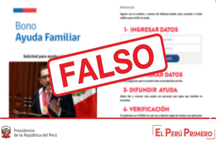 Información falsa