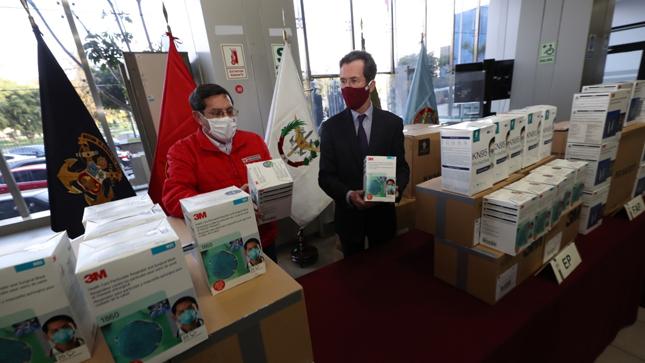 Fuerzas armadas reciben donación de equipos de protección