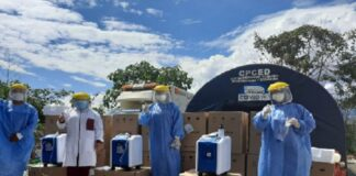 Entregan 18 concentradores de oxígeno a Hospital del Vraem