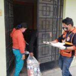 Indeci entrega 1723 kits de alimentos para familias afectadas