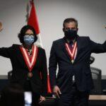 Piero Corvetto y Carmen Velarde juraron como jefes de ONPE y Reniec