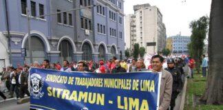 Trabajadores municipales realizarán protestas masivas