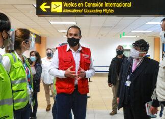 Autoridades inspeccionan aeropuerto Jorge Chávez
