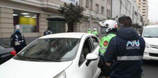 ATU traslada a depósito a 25 vehículos informales